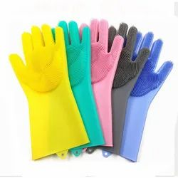 Magic Gloves for clean the kitchen tool, Finger Type: Full Fingered