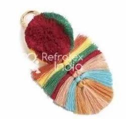 Colorful Pom Pom Tassel
