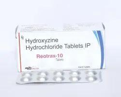 Hydroxyzine Hydrochloride 10mg