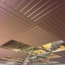 Clip in Pain Ceiling Tiles