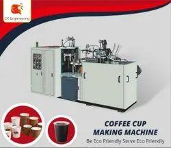 High Speed Coffee Cup Making Machine