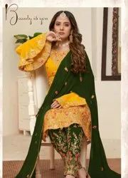 PAKISTANI EMBROIDRED SUIT