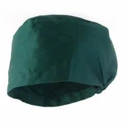 Green Surgical Cap, For Hospital, Size: Xl-xxl