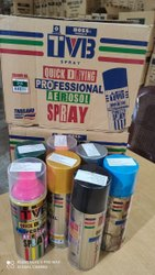 Aerosol Spray Paints, Packaging Type: Tin