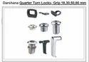 Quarter Turn Locks- Grip 18,30,50,60 Mm