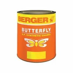 Berger Butterfly GP Synthetic Yellow Enamel Paint