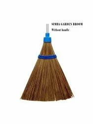 Polyester Simba Broom Without Handle, For Garden Cleaning, Size: Large