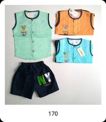 Girl & Boy 170 Kids Sleeveless Baba Suit