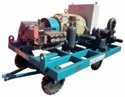 Industrial Boiler Tube Cleaning Machine
