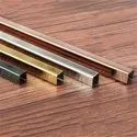 Rose Gold Stainless Steel Glossy U Profile 3mm To 500mm