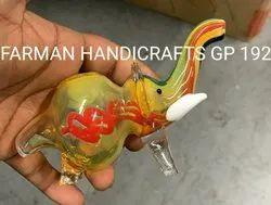 Elephant Glass Smoking Pipes