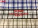 Libas yarn dyed twill check shirting fabric