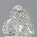 Heart 1ct H SI1 GIA Certified Natural Diamond