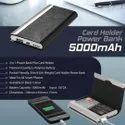 Visiting Card Holder Powerbank 5000mAh