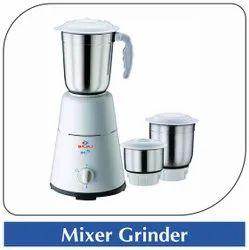 Bajaj Mild Steel Mixer Grinder, For Wet & Dry Grinding, 300 W - 500 W