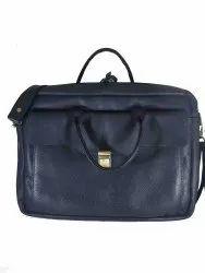 Leather 15.6 Inch Laptop Messenger Bag