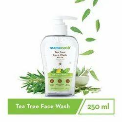 Herbal White Mamaearth Tea Tree Face Wash, For jairanjeetb2b.com, Packaging Size: 48 Pcs Box