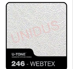 246-Webtex PVC Laminated Gypsum Ceiling Tile