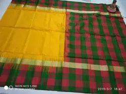 Festive Wear Ethnic Uppada Silk Saree, 6.3 m (with blouse piece)