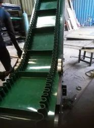 Inclined Cleat Belt Conveyor