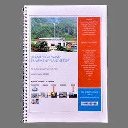 Paper Biomedical Waste Treatment Plant Project Guide Report, Packaging Type: Courier, Cbmwtf