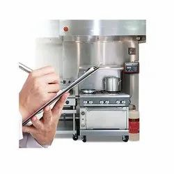 CO2 Based A Kitchen Hood Fire Suppression System, For Commercial, Capacity: 4Kg