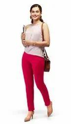 Cotton Plain Lux Lyra Kurti Pant, Size: Free Size