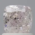 Cushion 1.01ct Very Light Pink I1 GIA Certified Natural Fancy Color Diamond