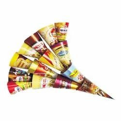 Foil Paper Cone Sleeves for Ice Creams