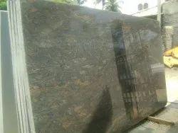 Polished Granite Slab, For Flooring, Thickness: 16 mm