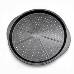 Nonstick Pizza Pan with Holes for Oven Professional Set for Grill Barbecue