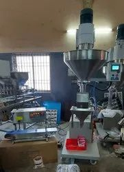 Bleaching Powder (Semi Automatic  Auger Filling Machine)