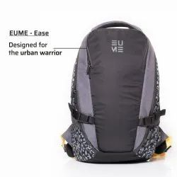 Black & Grey Polyester EUME EASE Massager Backpack 1.98 Kgs Capacity: 31 Ltrs