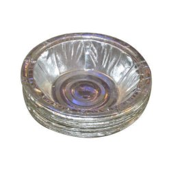 Circular Plain Silver Paper Dona, For Utility Dishes