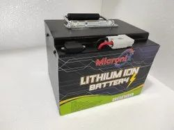 Micronix Lithium Battery for Electric Vehicle Application, Capacity: 25 Ah