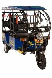 Mini Metro Blue E Rickshaw
