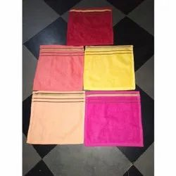 Terry Face Towel, For Home,Hotel, Size: 10 X 10 Inch