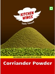 Kitchen Wing Natural Coriander Powder, 1 Kg, Packaging Type: Packet