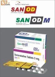 Desloratadine 5mg + Montelukast 10mg