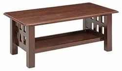 Brown Wooden Center Table
