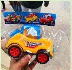 Mini Funny Racing Plastic Toy Car, No. Of Wheel: 4 Wheel