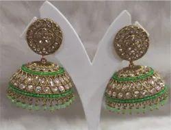 Wedding Brass Fashion Earrings