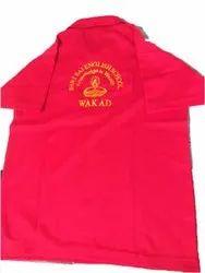 Cotton Red Kids School T Shirts, Size: S - L