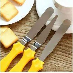 Kitchen Butter Knife Set, Finish: Polished