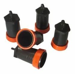 1 inch PVC Rain Pipe End cap, For Drip Irrigation Fitting, Head Type: Round