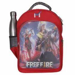Sms Bag House - Free Fire Waterproof School Bags For Kids