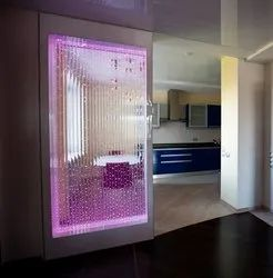 Living Room Interior Water Bubble Wall Architect Services, In Pan India, Bengaluru