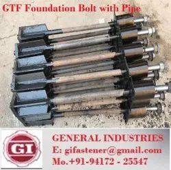 Ss Galvanized FOUNDATION BOLT , J BOLT , L BOLT MATERIAL 4.6 AND 8.8 HDG