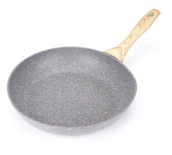 Mild Steel OET European Standard Maifan Stone Coating Frying Pan(pn44), For Home & Restaurant, Size: 24 Cm Diameter