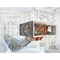 Living Room Interior Commercial Building Designing, in Local, Gujarat